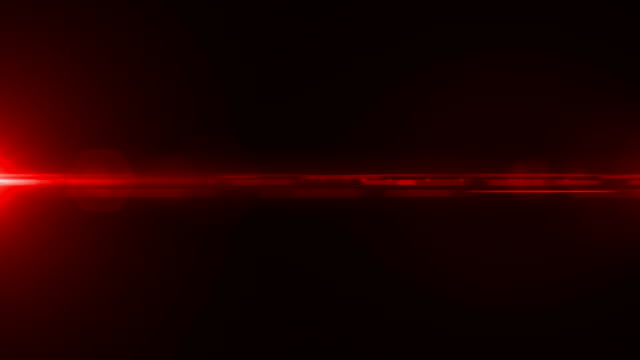 Red elegant abstract optical effect background, Optical flares Animation.