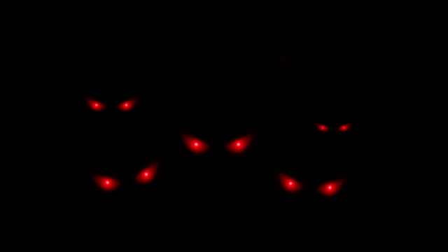 red evil eyes red evil eyes appear at night ghost stock videos & royalty-free footage