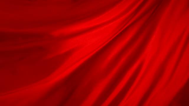 red fabric, slow motion - red silk bildbanksvideor och videomaterial från bakom kulisserna