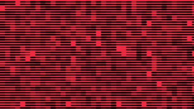 Red futuristic background video