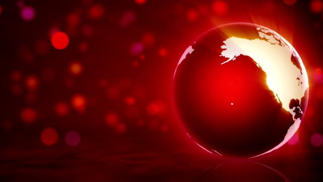 red globe and background - аксессуар для волос стоковые видео и кадры b-roll