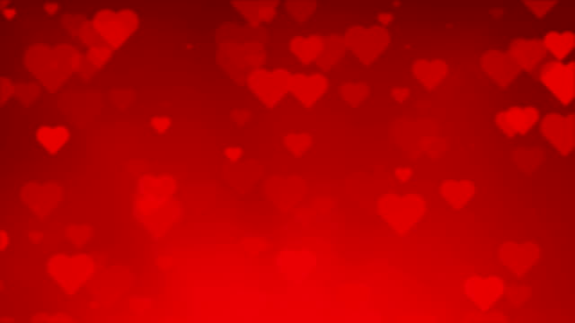 Red Heart Background Seamless Paritcles Red Heart Background Seamless Particles​ For Valentines Day valentines day stock videos & royalty-free footage