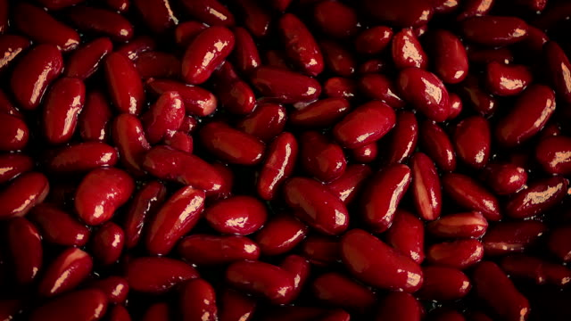 Red Kidney Beans Rotating video