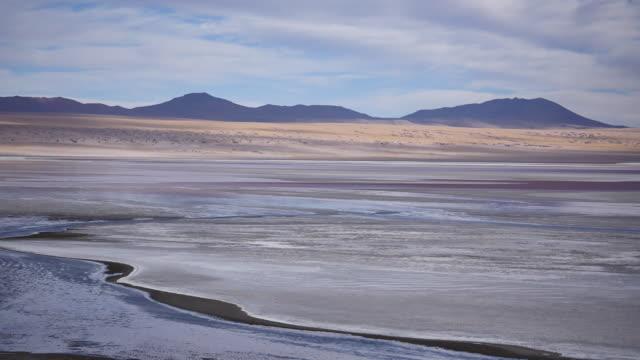 Red Lagune Atacama Bolivia Red Lagune Atacama Bolivia wasser videos stock videos & royalty-free footage