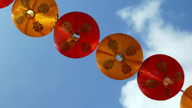 Red Lanterns for celebrations video