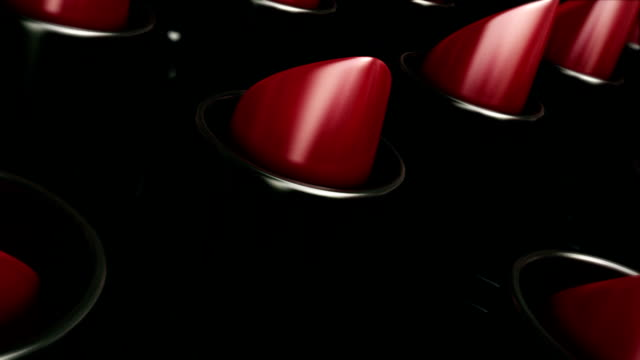 red lipstick - lippenstift stock-videos und b-roll-filmmaterial