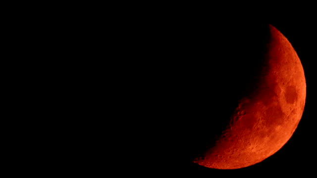 A Red Moon video