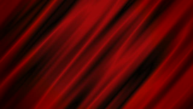 Red moving waves, abstract motion background.