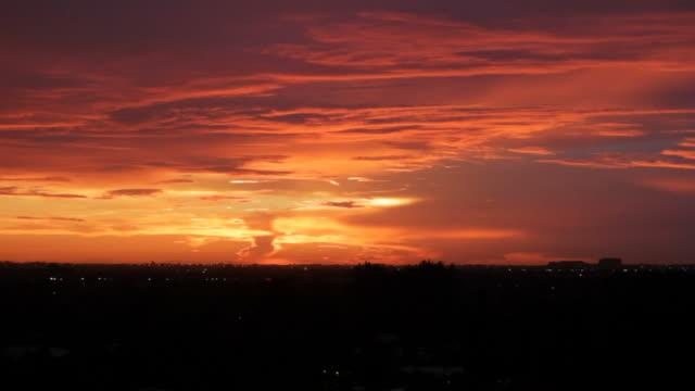 Red Orange Sunset Fort Lauderdale video
