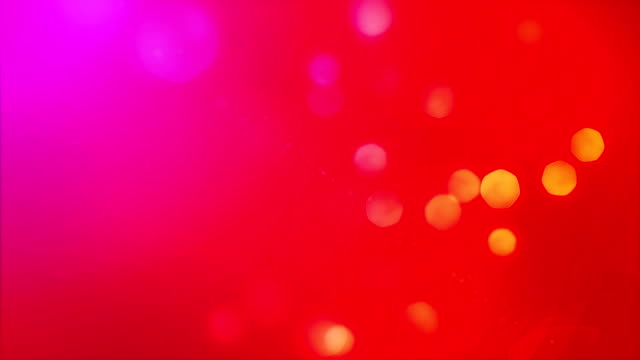 Red Particle Background
