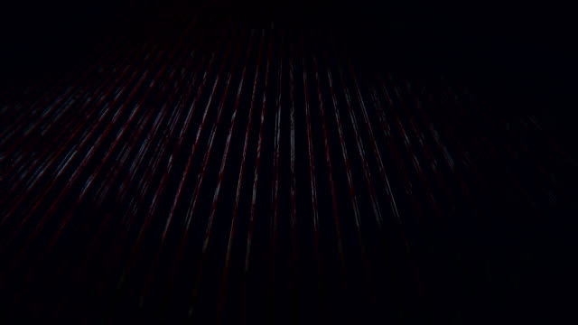 Red Particles Abstract Line Background (Loopable) video