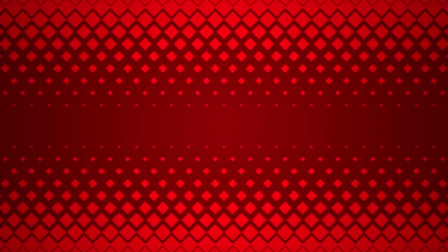 Red Repeating Square Pattern Design Background. video