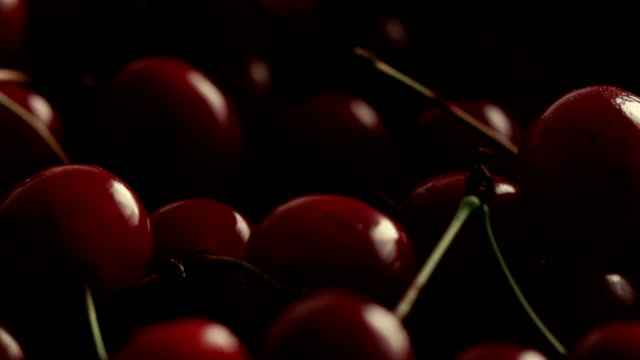 Red ripe cherry Red ripe cherry cherry stock videos & royalty-free footage