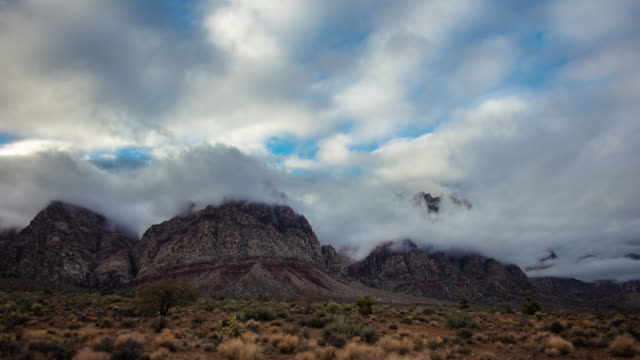 red rock canyon - las vegas - 4k - red rock canyon national conservation area video stock e b–roll
