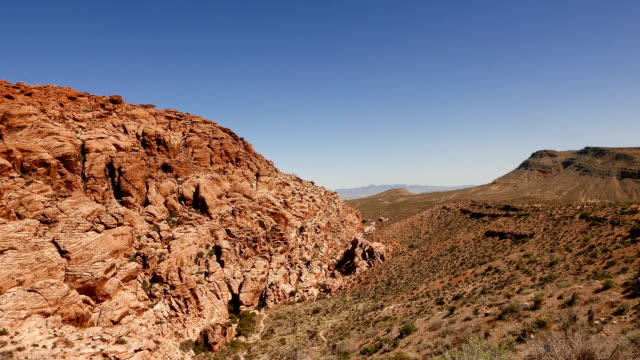 red rock canyon, nevada - red rock canyon national conservation area video stock e b–roll