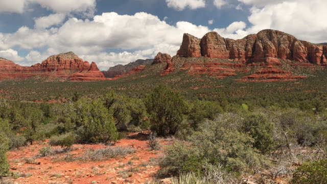 Red rock hiking trails in Sedona Arizona USA