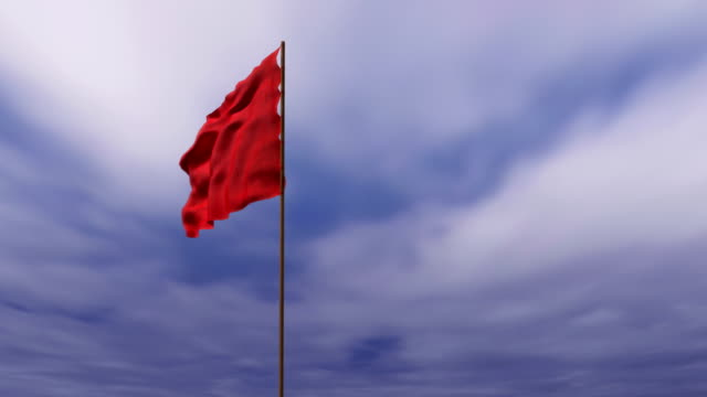 red signal flag video