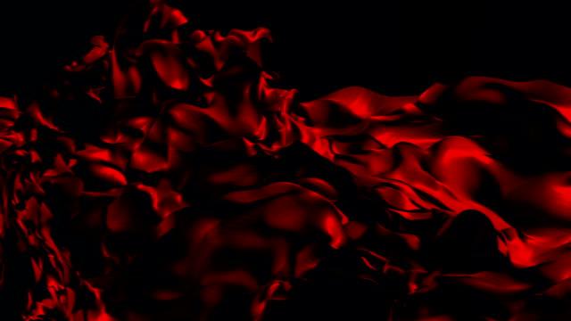 Red Silk Background video