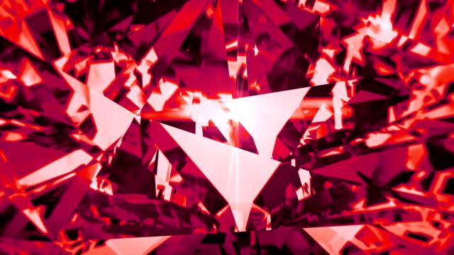 röd spinell dispersion footage. fancy diamond animerade färgbakgrund - mineral bildbanksvideor och videomaterial från bakom kulisserna