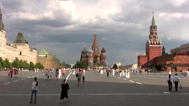 red square in moscow - röda torget bildbanksvideor och videomaterial från bakom kulisserna