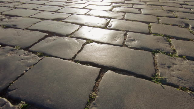 Red Square Paving in backlight