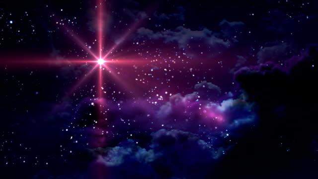 vídeos de stock e filmes b-roll de vermelho estrelado noite - reis magos