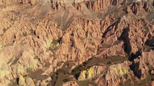 vídeos y material grabado en eventos de stock de valle rojo, capadocia, turquía - diseño natural