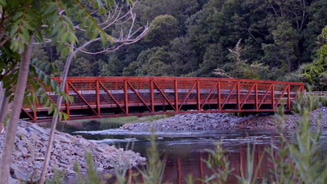 Red Walking Bridge 05 video