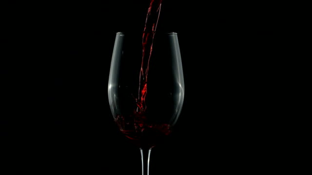 Red wine pouring, slow motion HD 1080p: Red wine pouring, slow motion.  Shot with a high speed camera at 1000 frames per second. red wine stock videos & royalty-free footage
