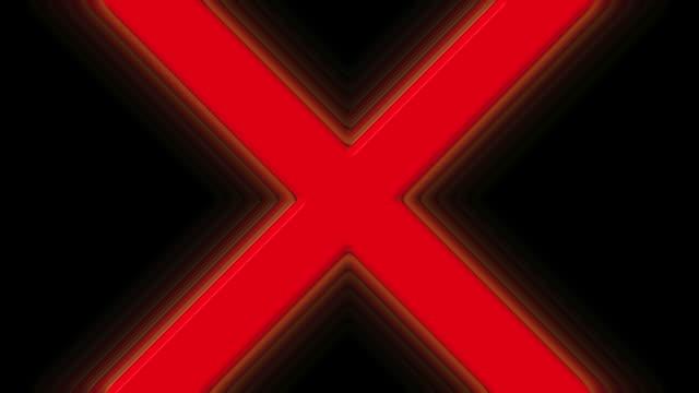 Red X Prohibited Symbol