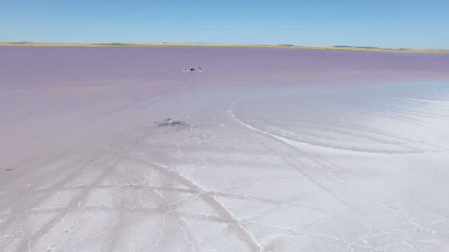 Red/Pink - Bumbunga Lake South Australia video