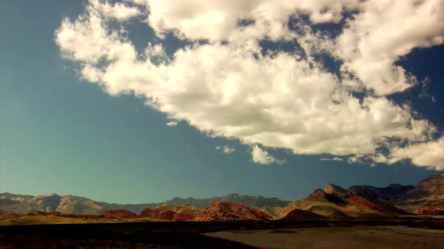 redrocks - red rock canyon national conservation area video stock e b–roll