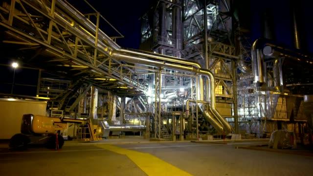 Refinery exterior video