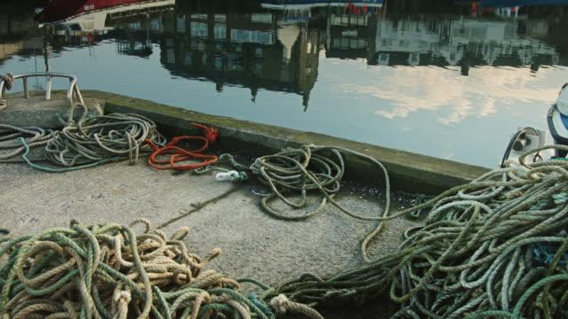 Reflected Fishing Village video