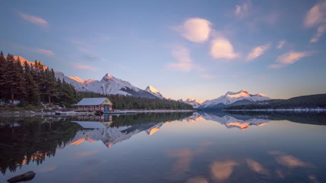 Reflection Lake sunset Timelapse