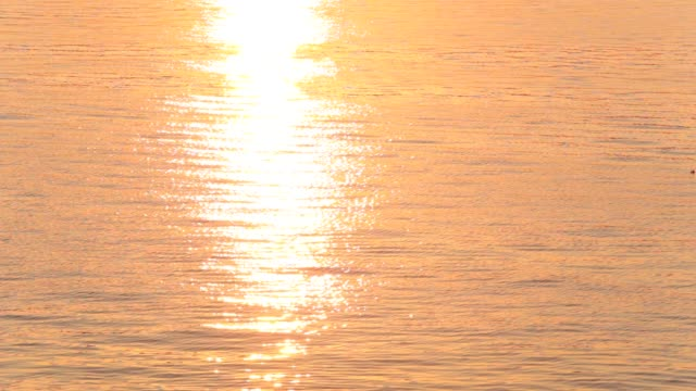 Reflection Of Sunrise Over The Sea Reflection Of Sunrise Over The Sea aegean sea stock videos & royalty-free footage