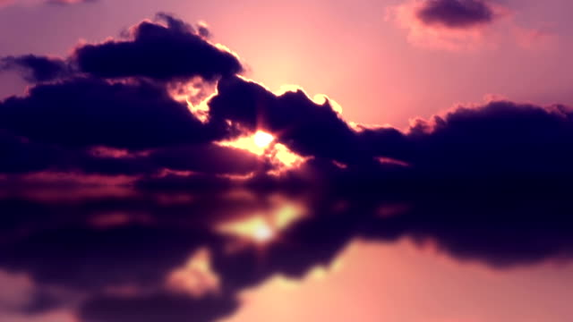 Reflection of the Sky (purple) video