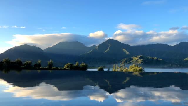 бассейн отражения - спокойная вода стоковые видео и кадры b-roll