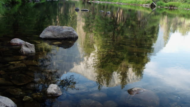 Reflections in Yosemite National Park video