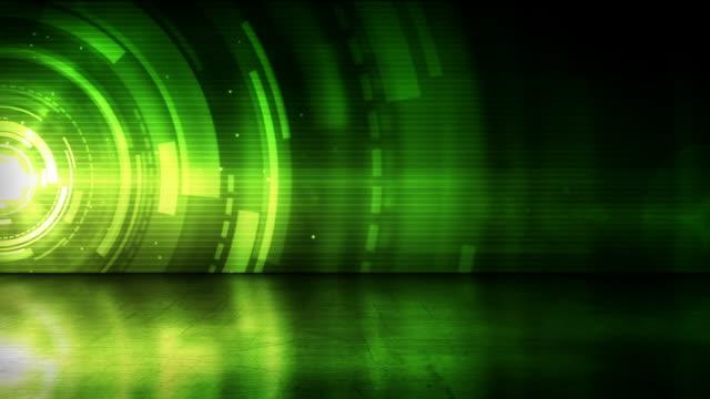 anello riflettente piano sfondo verde anelli (full hd - full hd format video stock e b–roll