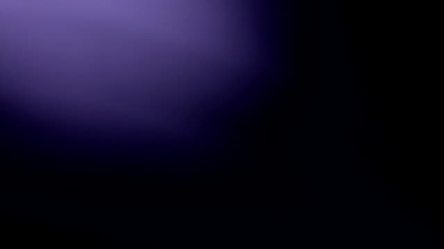 Refraction of purple color light in lens use as background video