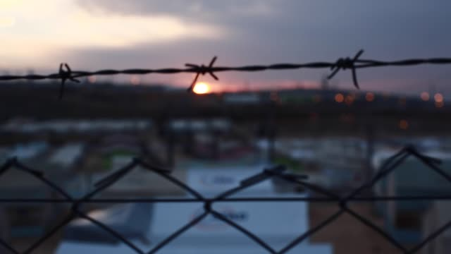 Refugee Camp A new day in the refugee camp syria stock videos & royalty-free footage