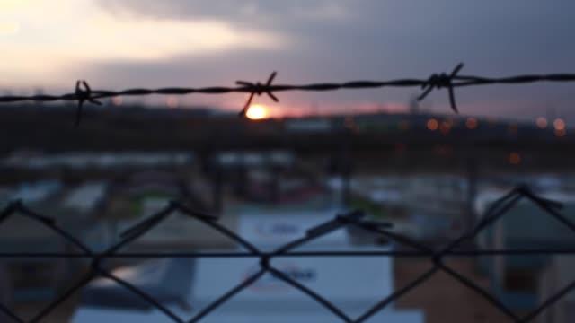 難民營 - 伊朗 個影片檔及 b 捲影像