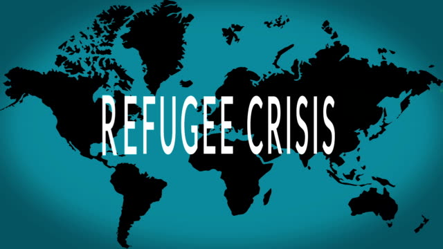 Refugees crisis Refugees crisis, migration concept 2015 stock videos & royalty-free footage