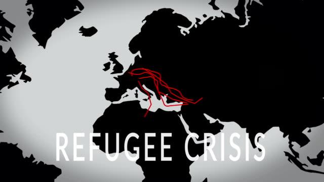 Crise des réfugiés - Vidéo