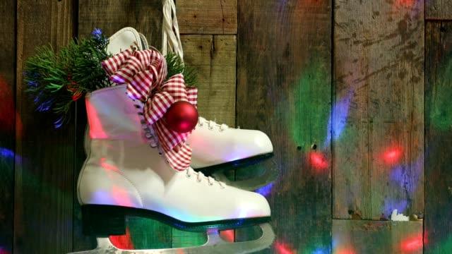 Regional Christmas Backgrounds - Ice Skates video