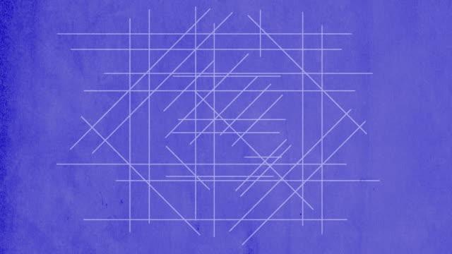 Registered R drawn on blueprint video