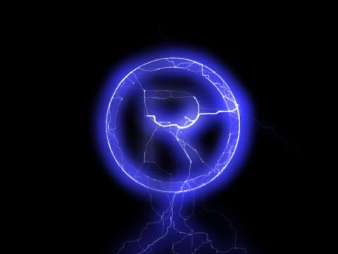 PAL: 'Registered' sign in lightning video
