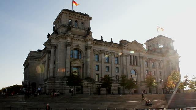 vídeos y material grabado en eventos de stock de reichstag berlin - berlín