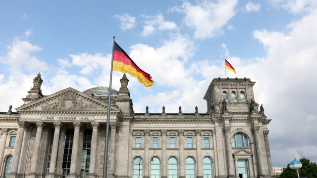 Reichstag Government Building in Berlin, Germany